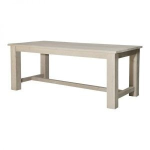 Livorno scaffolding wooden refectory table