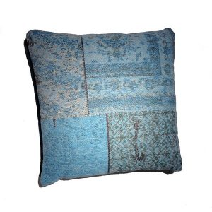 pillow set patchwork turquoise by By Boo