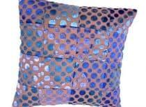 Kissenset Patchwork blauw-sapphire