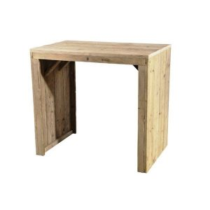 Baari scaffolding wood bar table