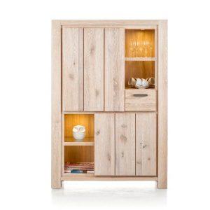 Caroni solid oak cabinet by Habufa