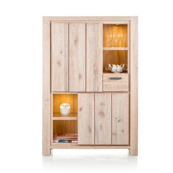 Caroni massief eiken bergkast van habufa global furniture webshop - Massief idee van tuin ...