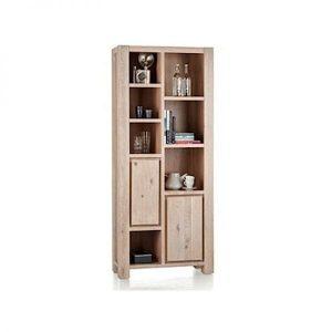 Caroni solid oak bookcase by Habufa