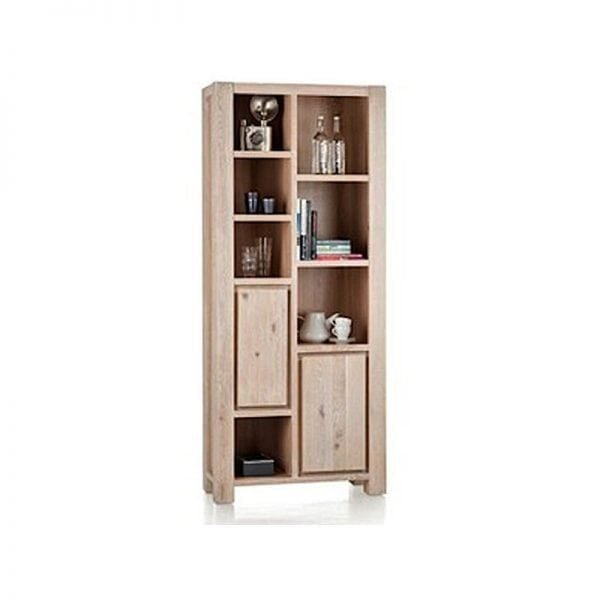 caroni solid oak bookcase by habufa