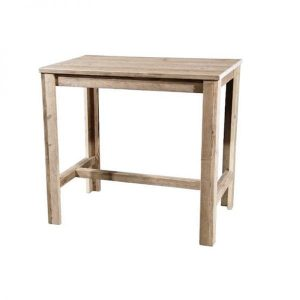 Kahvila scaffolding wood bar table