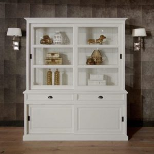 5086 Glass door cabinet display cabinet by Richmond ambiance