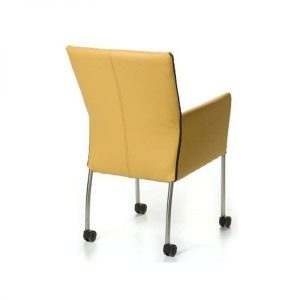 XL design dining chair with armrests