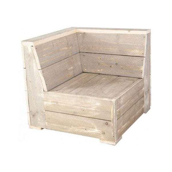 Saint Tropez Scaffolding Wooden lounge set