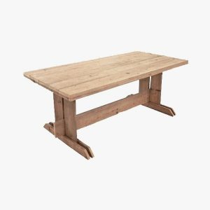 Monterosso scaffolding wooden dining table