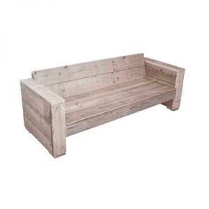 Coco Beach Scaffolding Wooden lounge sofa