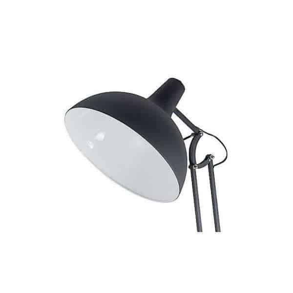 office xl vloerlamp zwart kap