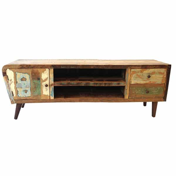 Apollo Retro Vintage TV Cabinet 145 Cm