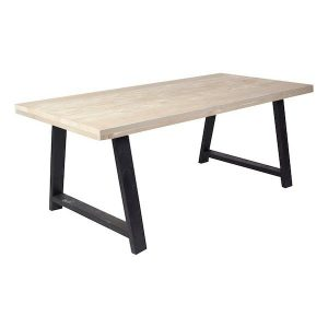 Bressimo scaffold wooden dining table