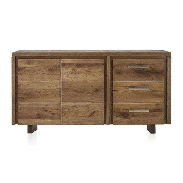 masters sideboard schrank eiche massiv 160 cm. Black Bedroom Furniture Sets. Home Design Ideas