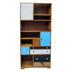 Colourful Furnitures book case