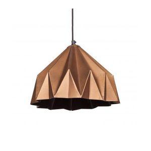 Crease metal lamp retro copper Be-Pure