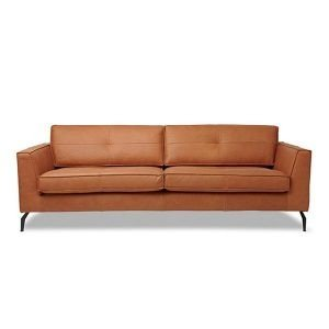 Legend design couch in Rancho leather