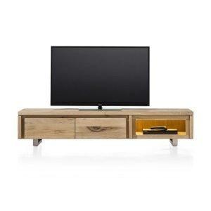 Masters TV kast / laag dressoir 2 klepdeuren 1 niche 180 cm