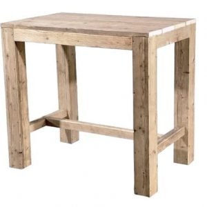 Scaffolding wood pub bar table