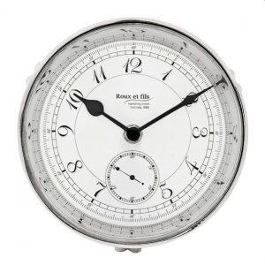 First Lady clock nickel by Eichholtz