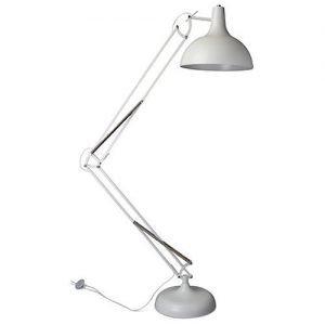 Office XL floor lamp metal black or white