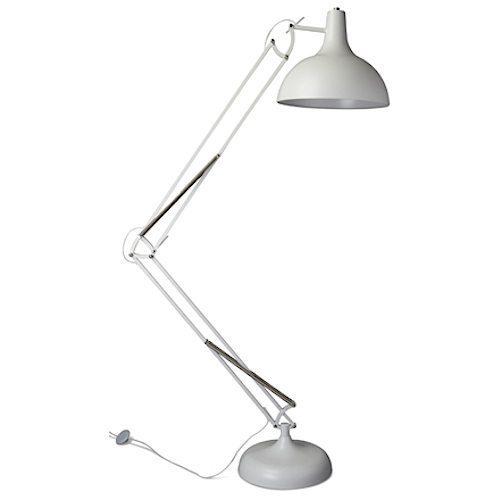 Office XL vloerlamp Pixar wit
