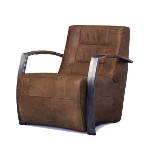 Aggy armchair with industrial design