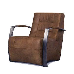 Aggy fauteuil met industrieel design
