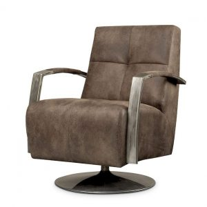 Solvi Swivel chair with industrial design