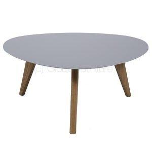 Oaky salontafel groot rond retro sixties