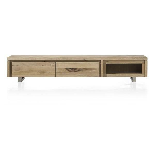 Lage Dressoir Tv Kast.Masters Eiken Tv Kast 200 Cm Global Furniture Woonwinkel