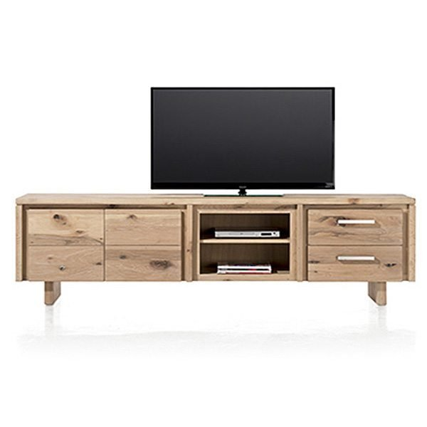 masters lowboard tv schrank eiche massiv 240 cm. Black Bedroom Furniture Sets. Home Design Ideas