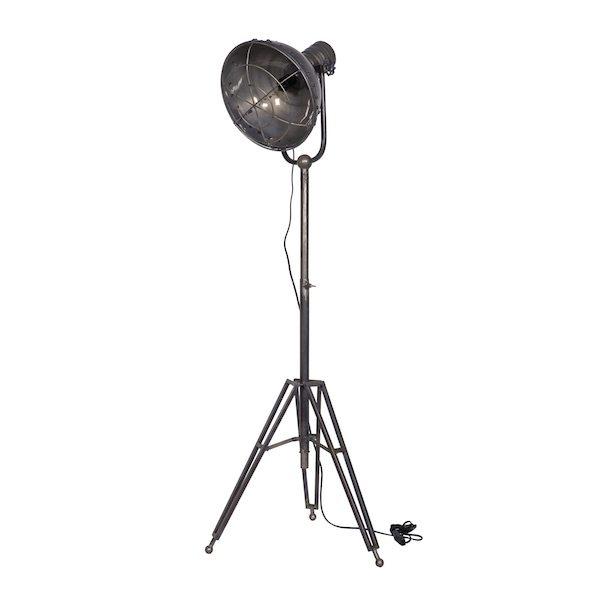 Spotlight vloerlamp metaal van BePureHome