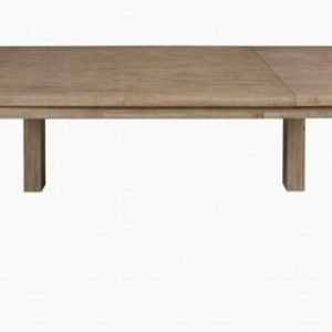 Stresa acacia truffle dining table