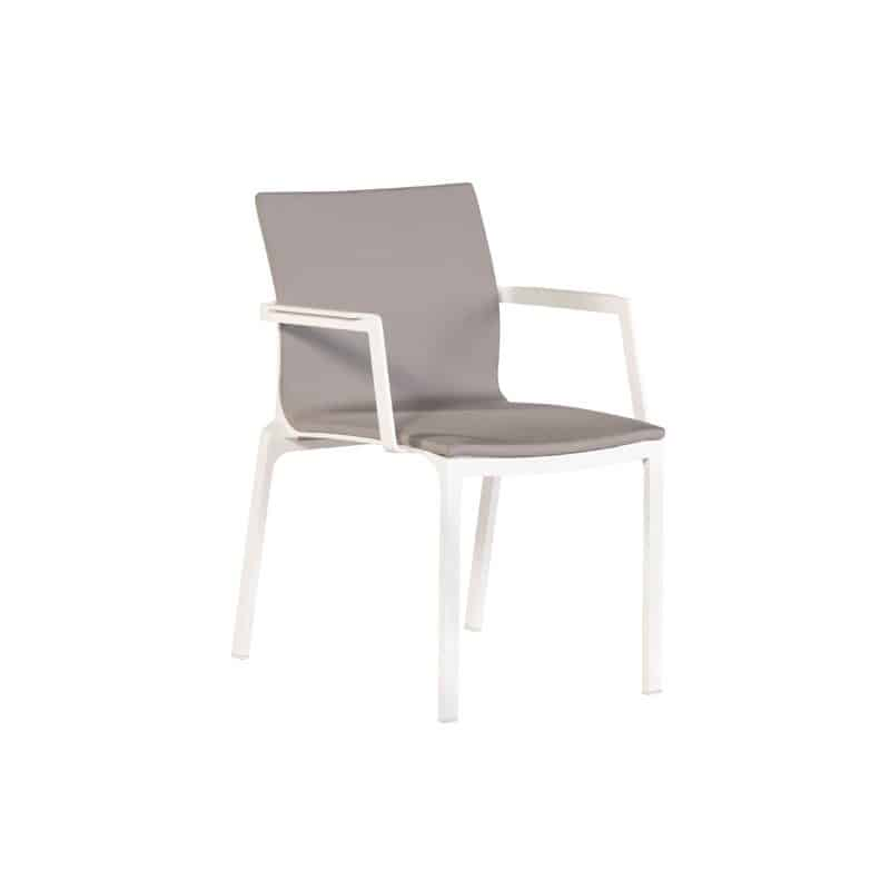 Sevilla dining chair taupe by Exotan