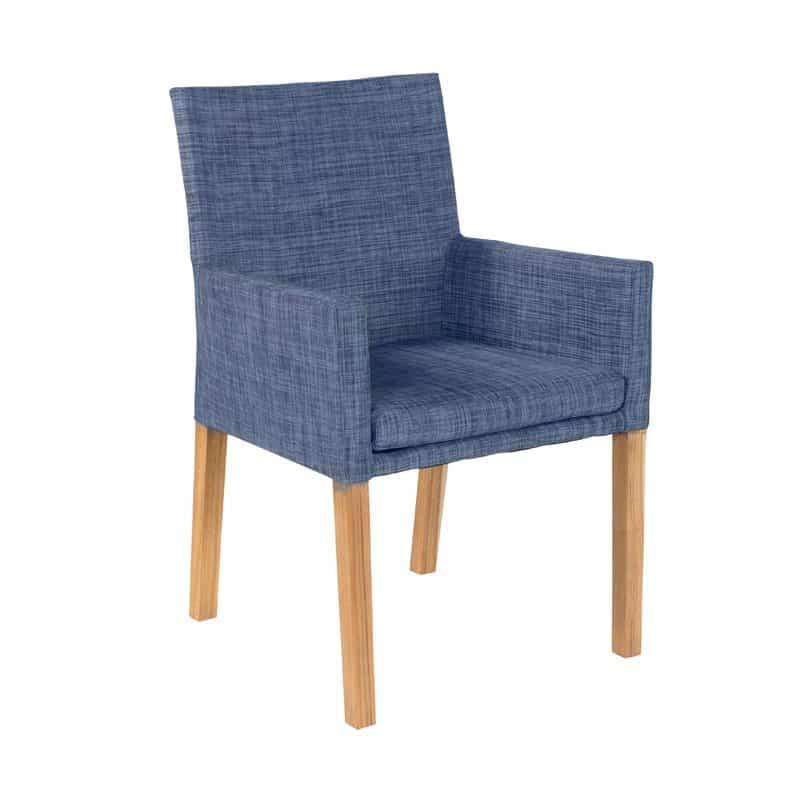 york textilene garden chair with teak by exotan global furniture rh globalfurniture nl