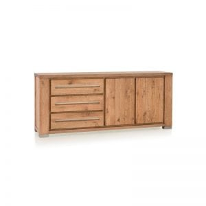 Patagonia castle oak finish sideboard 190cm