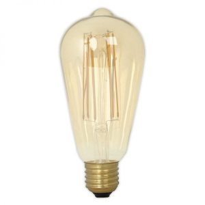 Calex Filament LED Gold Helder Retro Edison lamp 525414