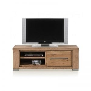 Patagonia castle oak finish TV cabinet 130 cm