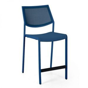 Flair aluminum bar stool