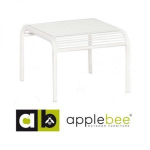 Hawaii Hocker aluminium wit van applebee