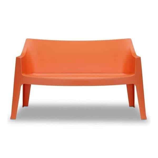 Coccolona divano bank sofa tuinbank scab design oranje