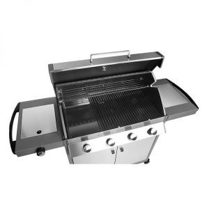 Cadac barbecue BBQ outdoor kitchens: Grilled salmon in