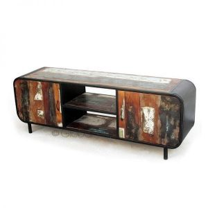 Lotte colourful industrial TV cabinet 160 cm side