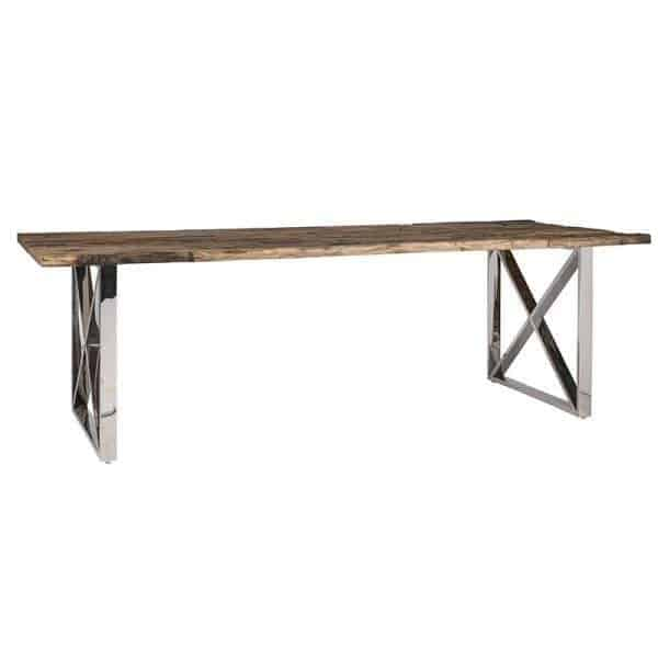 Kensington dining table recycled wood Richmond