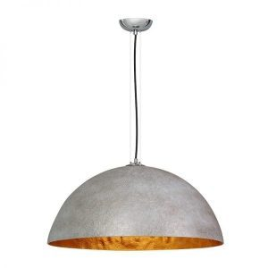 Mezzo Tondo hanglamp beton grijs goud