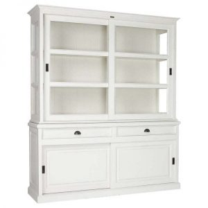 5086 Glass door cabinet display cabinet by Richmond