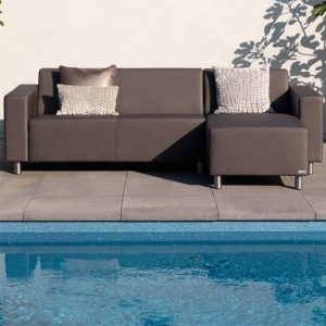 Triniti Tom silvertex lounge chaise longue Ambiance