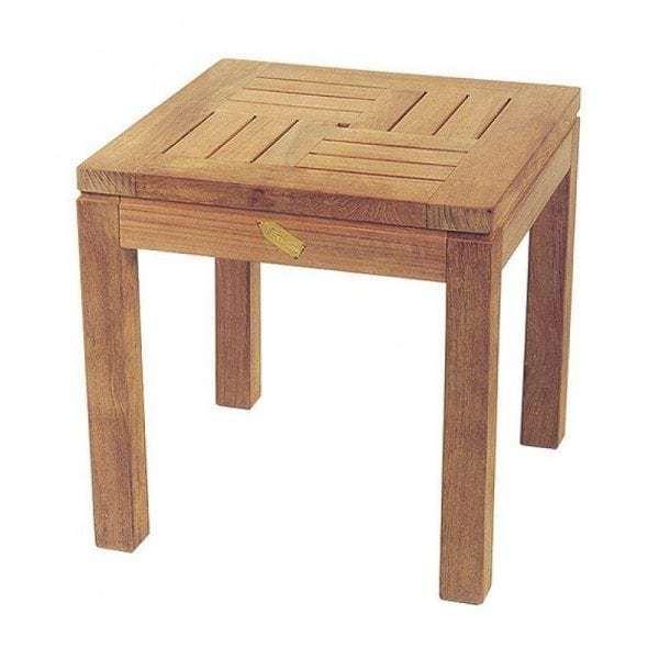 Houten Bijzettafel Vierkant.Exotan Bijzettafel Vierkant 45 Cm Global Furniture Webshop