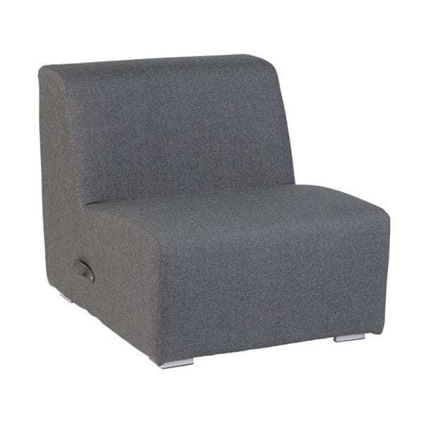 Kubbano tuin lounge fauteuil aluminium Nanotex